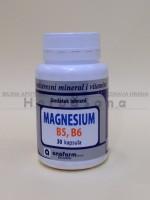 Magnezijum, B5, B6 – 30 kapsula Anafarm