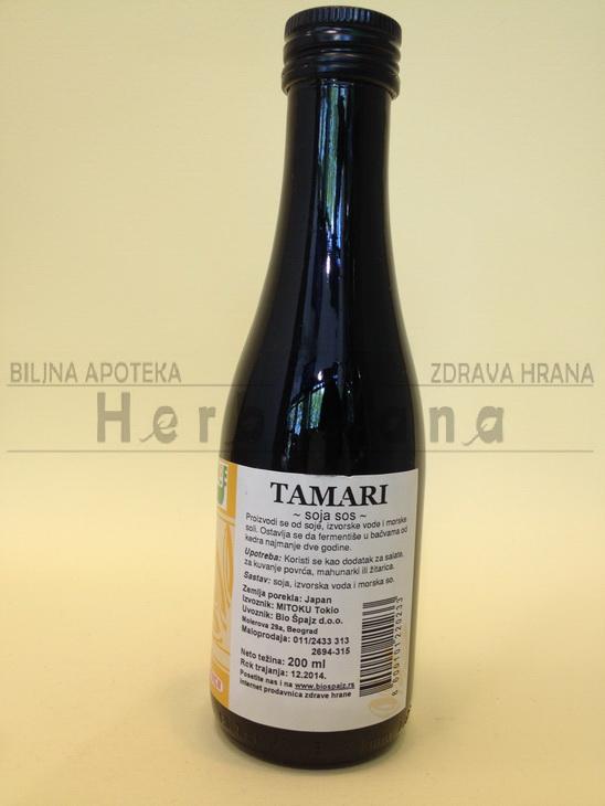 tamari sos 200 ml