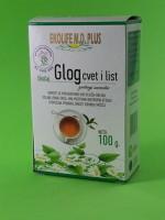 Čaj od cveta i lista Gloga 100g Ekolife