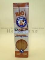 Integralna durum testenina 500 gr – Bio špagete Ambra