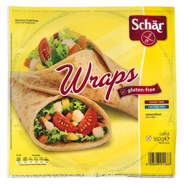 schar wraps bez glutena 160gr
