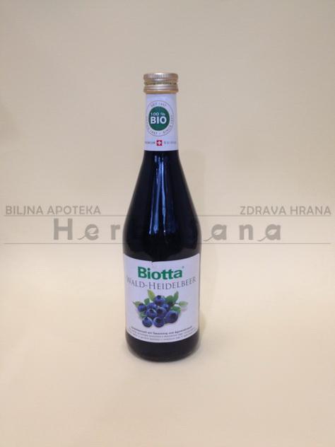 sok od borovnice biotta 500 ml
