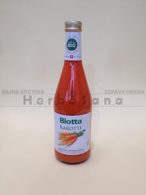 sok od sargarepe biotta 500 ml
