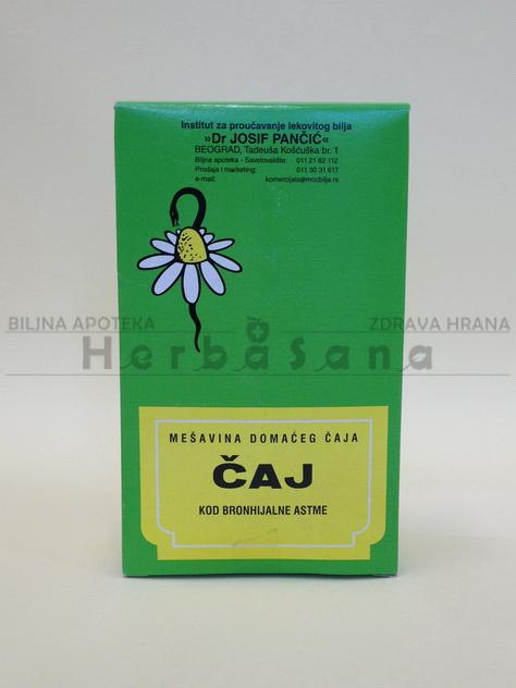čaj br 4 kod bronhijalne astme