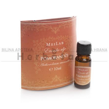 Etarsko ulje pomorandže 10ml Meilab