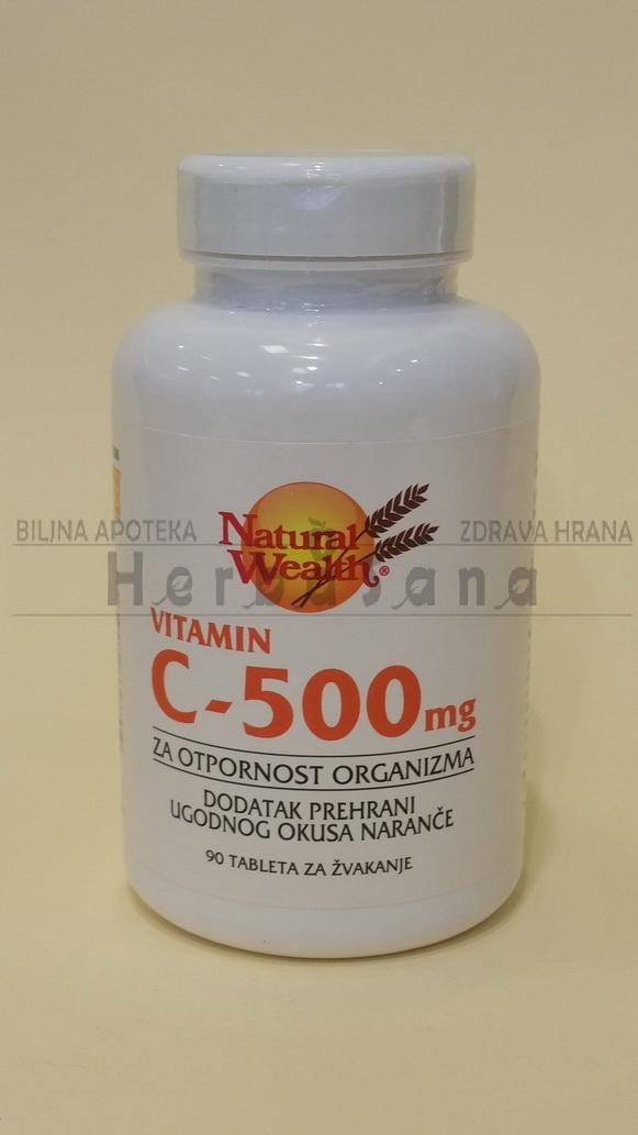 c500 tablete za zvakanje