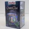 caj green chai yogi tea