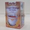 caj od djumbira i pomorandze sa vanilom yogi tea