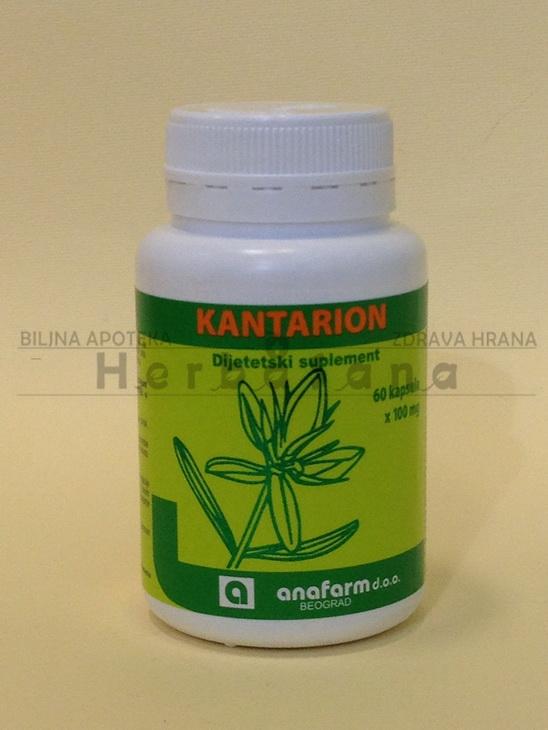 kantarion 100 mg 60 kapsula anafarm
