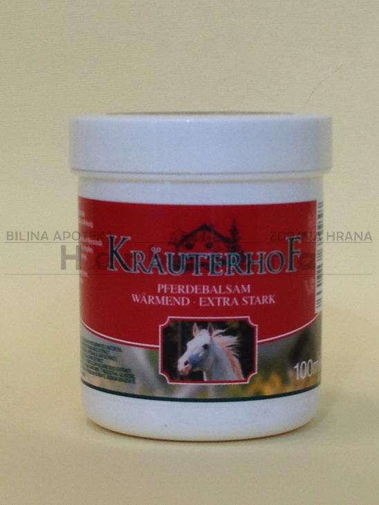 krauterhof konjski balzam sa efektom toplote ekstra jak 100ml
