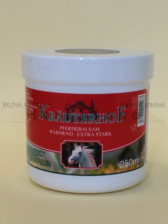krauterhof konjski balzam sa efektom toplote ekstra jak 250ml