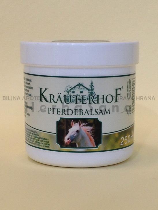 krauterhof konjski balzam zeleni 250ml