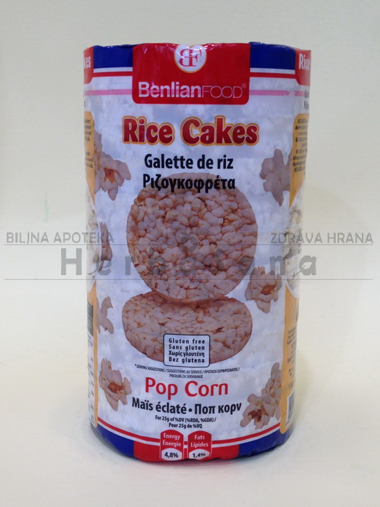 pirincane galete popcorn 100g