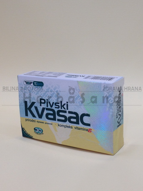 pivski kvasac 30 tableta