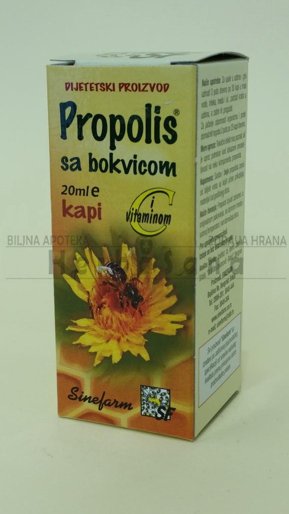 propolis kapi sa bokvicom i vitaminom c