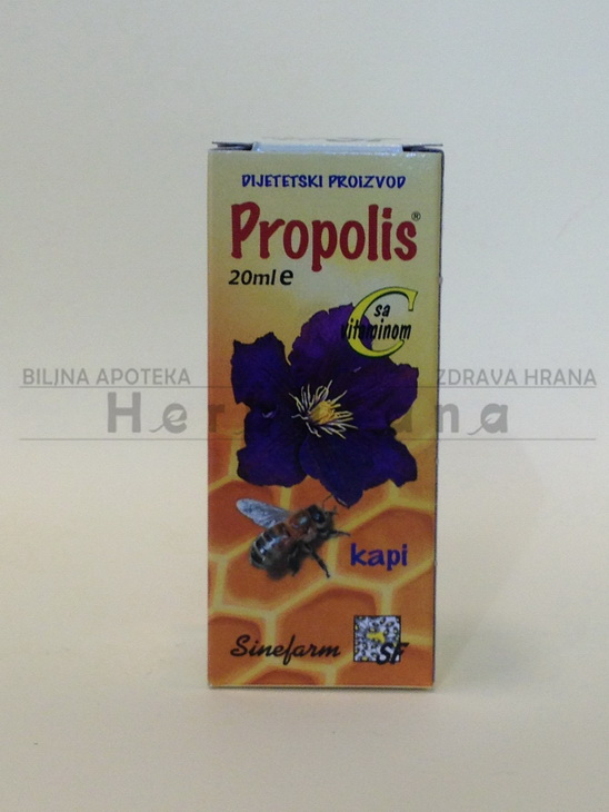 propolis kapi sa vitaminom c 20ml