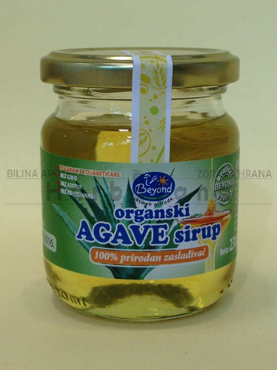 sirup od agave 230 g organski proizvod