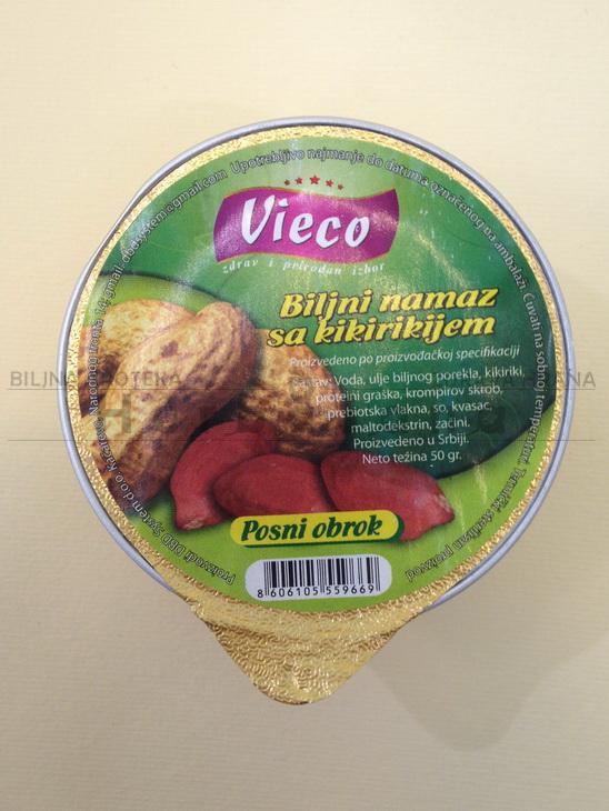 vieco biljna pašteta sa kikirikijem 50g
