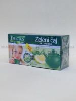 Zeleni čaj sa limunom filter kesice