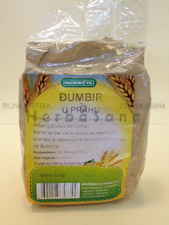 djumbir u prahu 100 gr