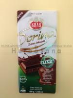 Dorina tamna čokolada sa steviom 80g