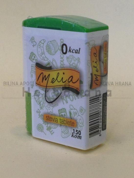 stevia melia prirodni zasladjivac 150 tabletica