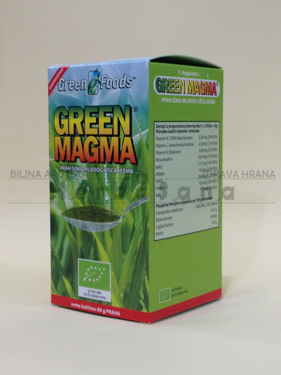 zelena magma 80 gr prah soka mladog lisca jecma
