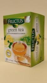 Zeleni čaj sa nanom i limunom