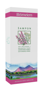 BIOMELEM Šampon od vrijeska i hajdučke trave 200ml organski