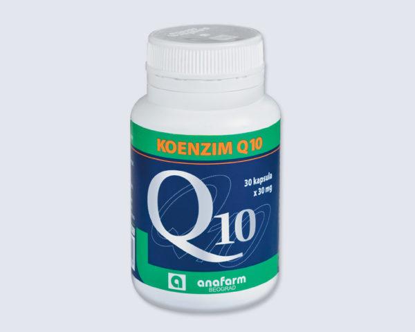 koenzim q10 30mg 30 kapsula
