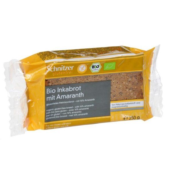 schnitzer bezglutenski hleb sa amarantom bio 250g