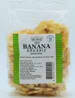 Banana čips 100g (organski proizvod)