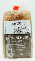 Ječmeni hleb bez kvasca 350g
