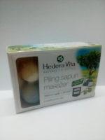 Piling sapun masažer sa zeolitom i aktivnim ugljem 120g Hedera Vita