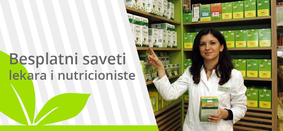 Besplatni saveti nutricioniste i lekara