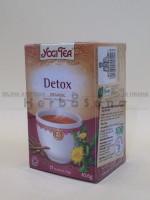 Detox čaj Yogi Tea, 17 filter kesica