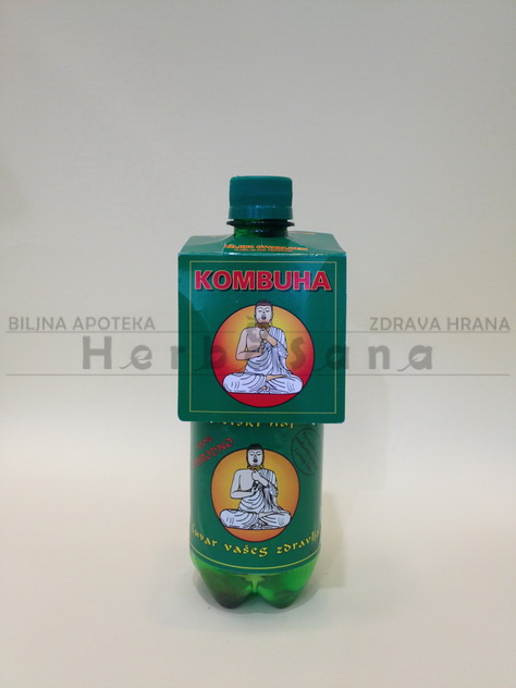 Kombuha zelena 500ml Macrobiotic pharm