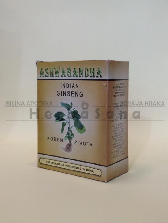 Ashwaganda koren (žen šen) 50g
