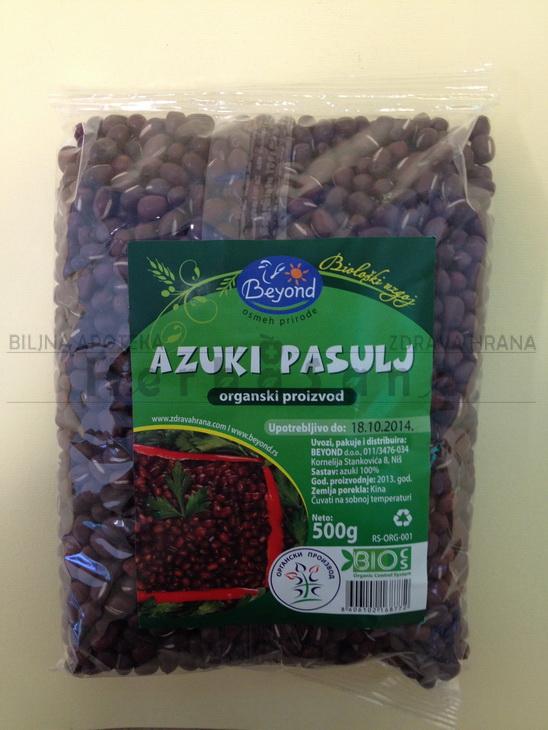 Pasulj Azuki 500 gr (organski proizvod)