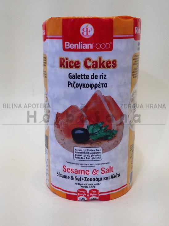 Pirinčane galete sa susamom i solju 100g