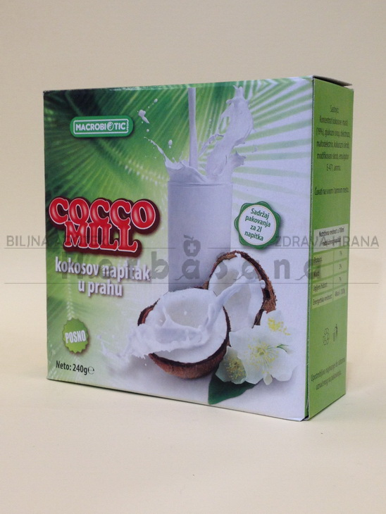 Cocco mill Kokos napitak prah 240g