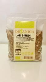 Lan smeđi 400 gr Organica (organski proizvod)