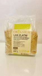 Lan zlatni 400 gr Organica (organski proizvod)