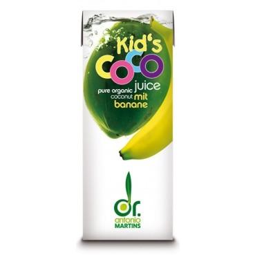coco juice kids banana organski proizvod 200ml