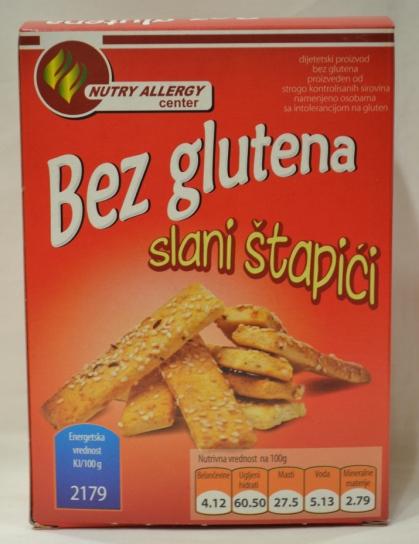 keks slani štapići, 200g bez glutenski proizvod