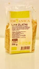 Lan zlatni 200 gr Organica (organski proizvod)