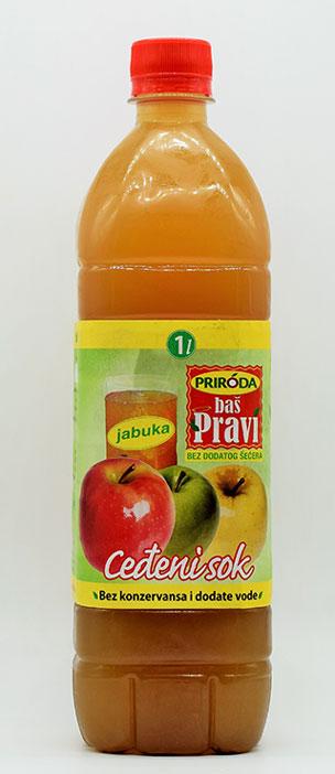 pravi sok od jabuke 1l