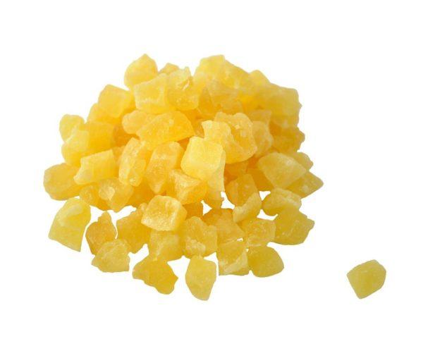 ananas suseni kockice 100g rinfuz