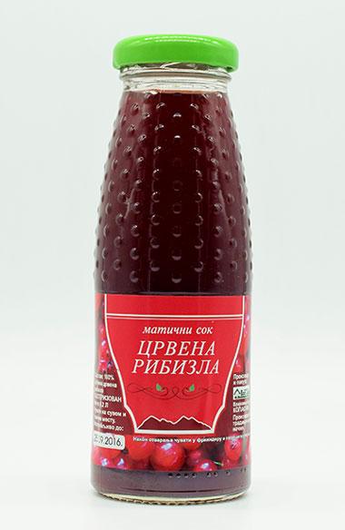 maticni sok od crvene ribizle 200ml