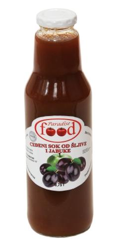 sok sljiva i jabuka 0.75l